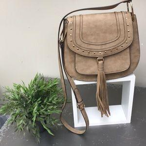 Franco Sarto Saddle Cross Body Bag